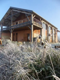 L'Ecocentre en hiver