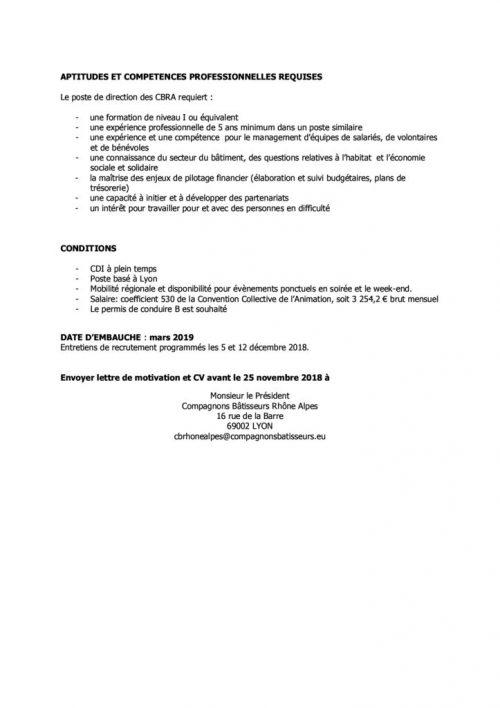 thumbnail of Offre emploi directeur CBRA 2018 p2